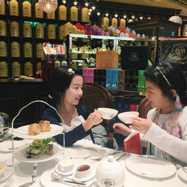 Ofcourse, we had to high tea at least once!