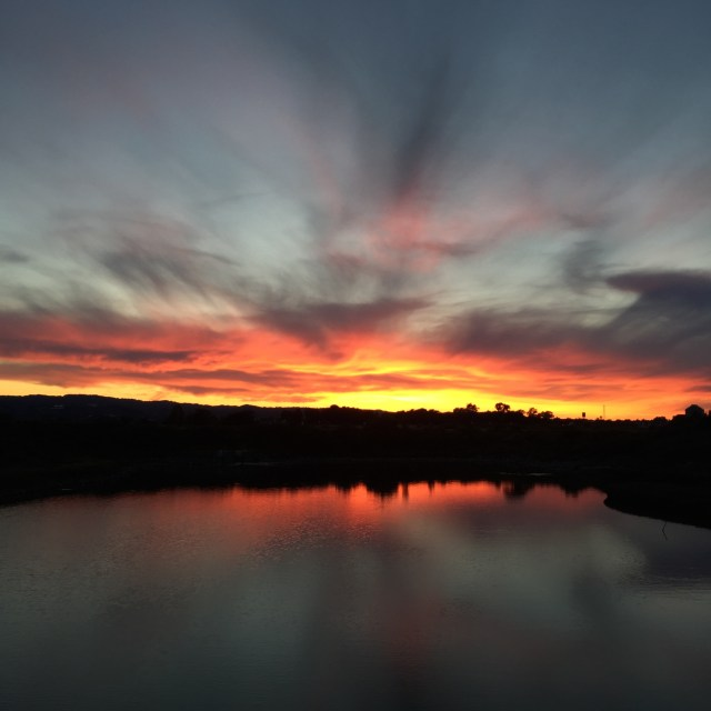 We love witnessing all of God's glory in these extraordinary sunsets in our neighborhood