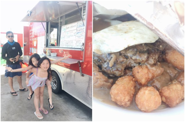 This food truck en route to Princeville had one of the best loco moco we've had!
