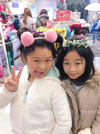 Kawaii girls in Harajuku