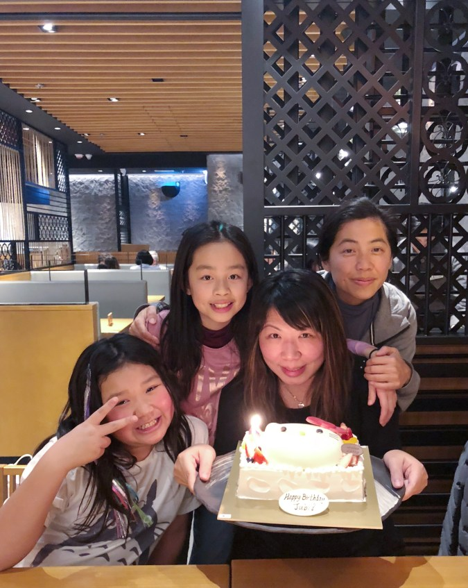 Cutest Hello Kitty bday cake for MOI