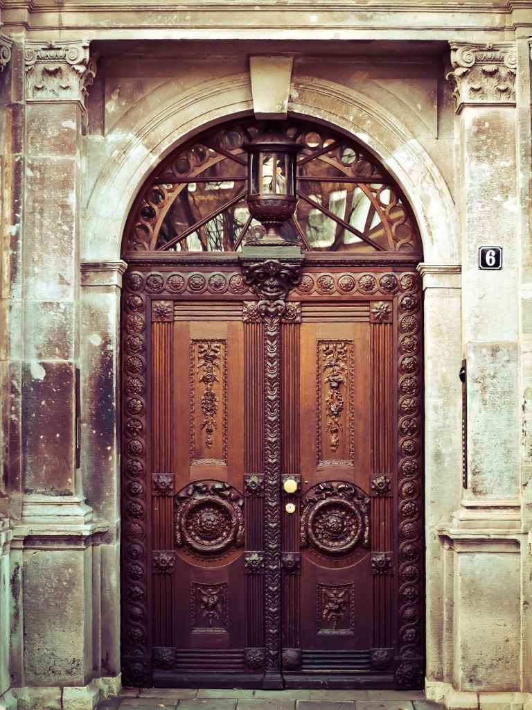 ancient antique architecture building