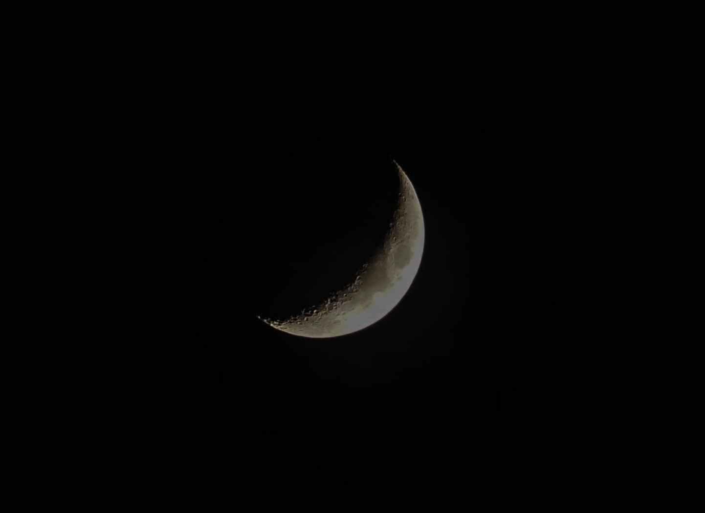 night dark moon slice