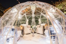Winter Igloos Watergate Hotel