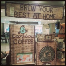 Caribou Coffee - my new favourite.