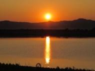 Sunset at the Irrawaddy River, Bagan, Burma