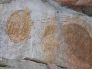 Wall Painting at Ubirr, Australia