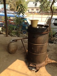 Whisky Manufacture, Luang Prabang, Lao