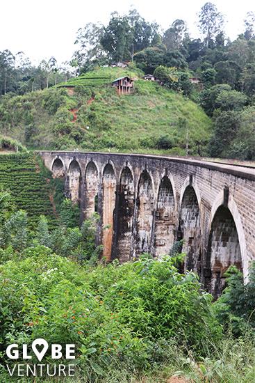 Beeindruckendes Bauwerk - die Nine Arche Bridge