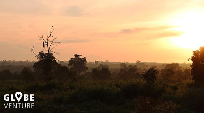 Udalawawe Nationalpark Sonnenaufgang