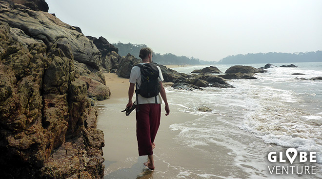 Radjbag Beach - Goa Suedgoa - Patnem