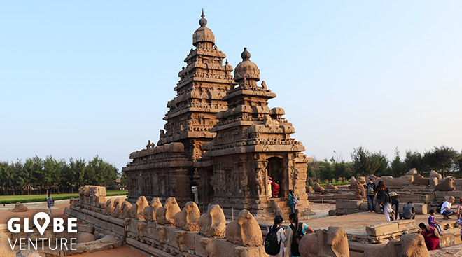 Küstentempel in Mamallapuram