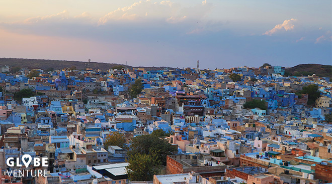 Jodhpur die blaue Stadt
