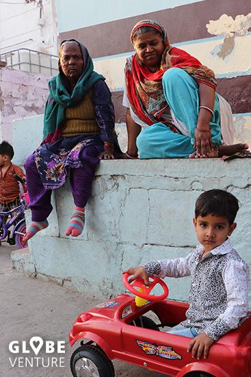 Einige der Bewohner der Altstadt von Jodhpur