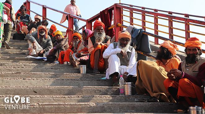 Indien Haridwar Ganges