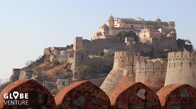 Mauer von Kumbhalgarh