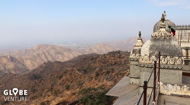 Ausicht vom Fort Kumbhalgarh