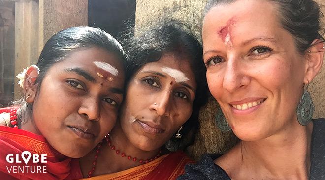 Indien Pilger Tanjavur