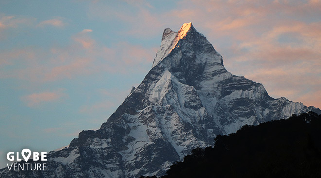 Nepal, Mardi Himal Trek, Machapuchare, Fishtail