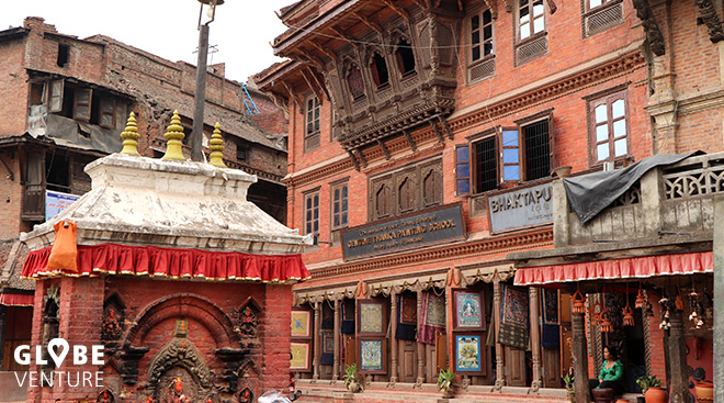 Nepal Bakthapur Pottery Square