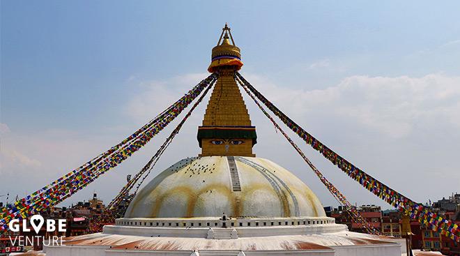 Große Stupa in Boudanath Kathmandu