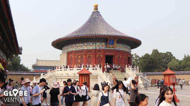 Himmelstempel und Tiantan Park