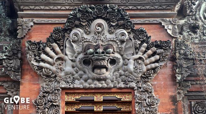 Detail Tempel Ubud