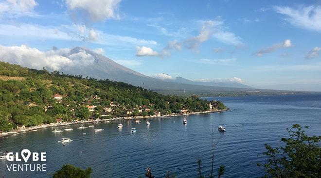Bali Amed Jemeluk Mount Agung