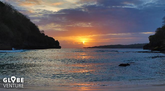 Sonnenuntergang Padan Beach
