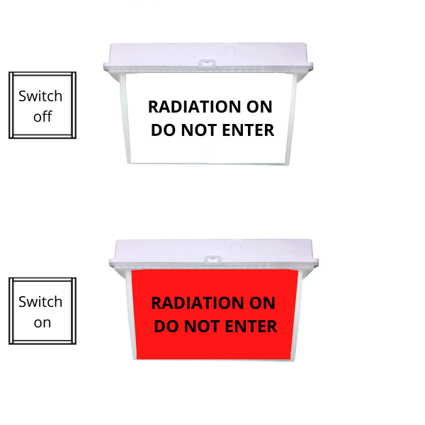 RADIATION ON DO NOT ENTER
