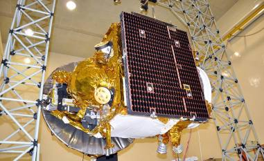 ISRO's Mangalyaan Satellite Photo: ISRO-India