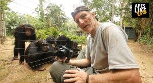 Apes Like Us host Gerry Ellis
