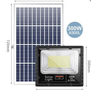 Projecteur Solaire JD-8300L 300w LED