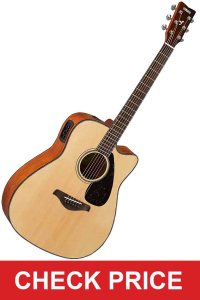 Yamaha FGX800C Guitar