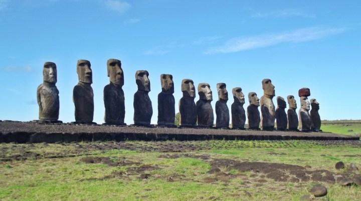 Maoi, Easter Island