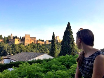 The views of Alhambra