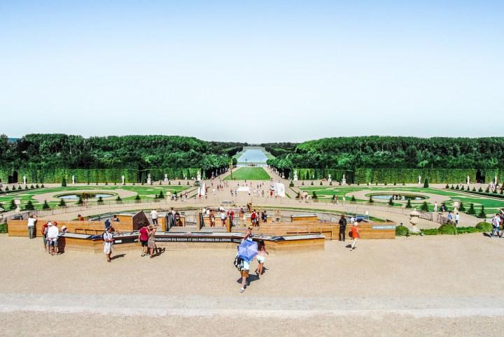 The gardens of Versailles