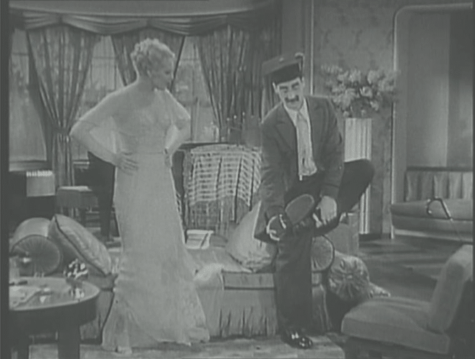 Groucho Marx et Thelma Todd