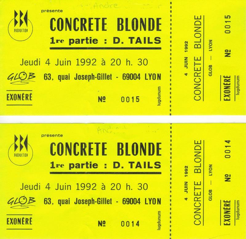 Concrete Blonde en concert