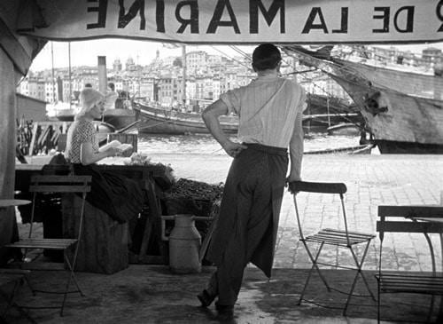 Marius sur le port