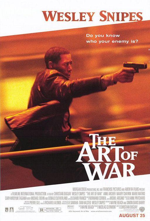L'art de la guerre affiche