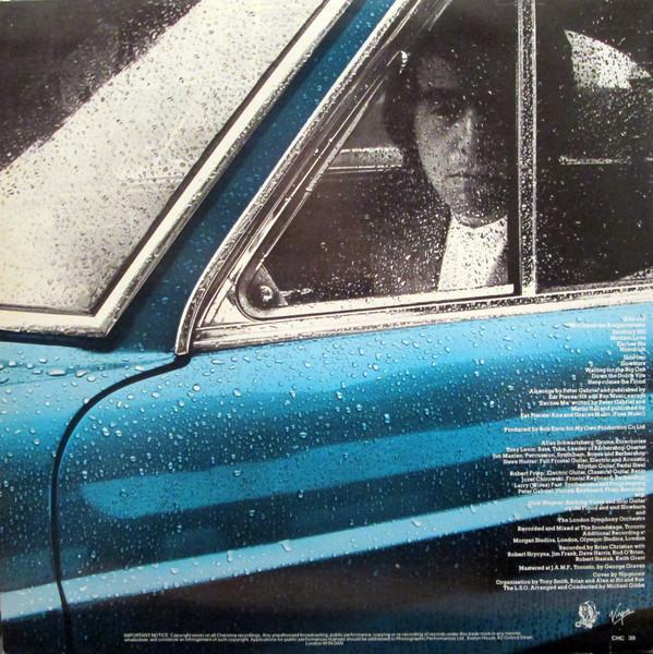 Peter Gabriel 1 verso 1977