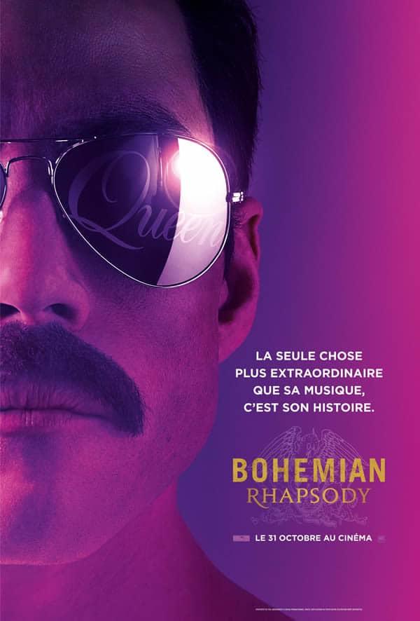 Bohémian Rhapsody l'affiche
