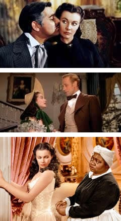 Gone With The Wind, Vivien Leigh, Clark Gable