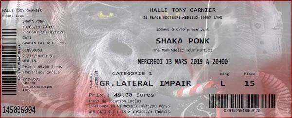 Shaka Ponk live in Lyon