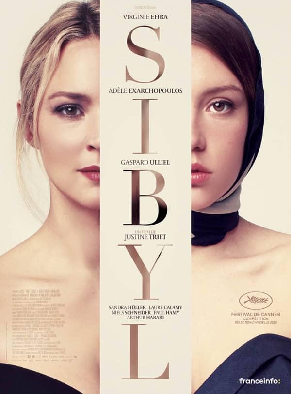 Affiche Sibyl avec Virginie Efira