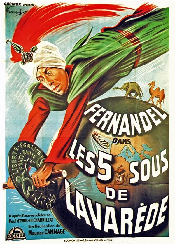 Fernandel dans Lavarede