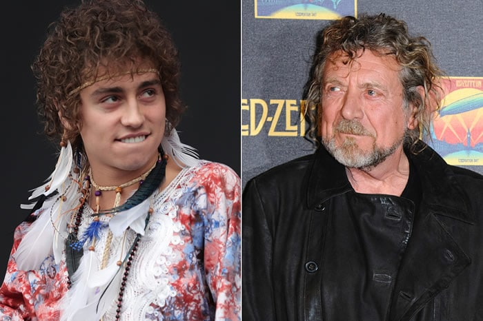 Josh Kiszka et Robert Plant