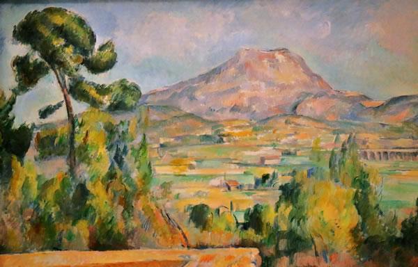 La montagne Sainte Victoir par Cézanne