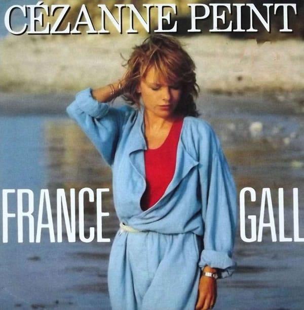 France Gall Cézanne peint 45trs